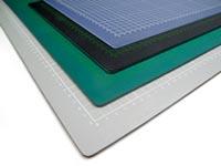 Schneidematte Farben Grün Schwarz Grau Transparentt